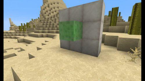 Блок слизи minecraft