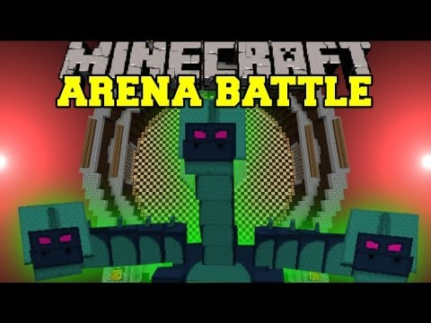Boss Battle Arena minecraft