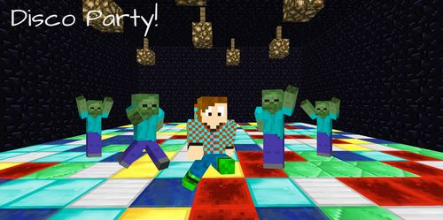 Disco Party minecraft