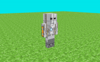 HD скин Железного Человека - War Machine Mark 2