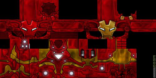 Скин Человека Паука HD minecraft