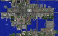 Карта Большой город для minecraft