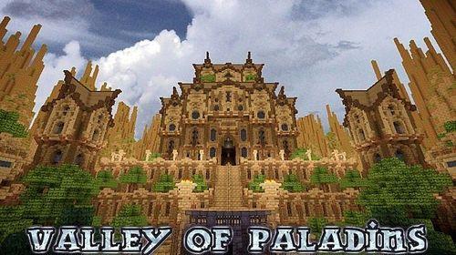 Карта: Долина впадины старого замка для майнкрафт minecraft