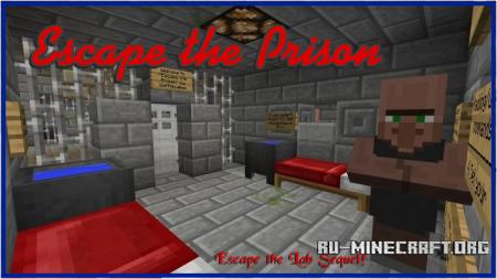 Карта Escape the Prison для minecraft minecraft