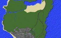 Карта Grand Theft Auto V для Майнкрафт