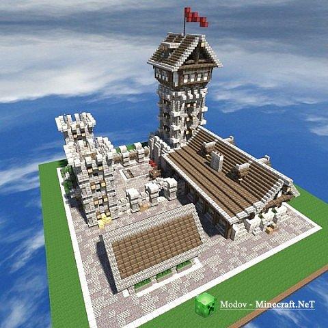 Карта Эйфелева башня для Майнкрафт 1.5.2 minecraft