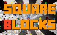 Карта Комнатные испытания - SquareBlocks для minecraft 1.8.1/1.8