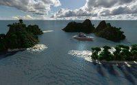 Карта Красивая яхта для minecraft