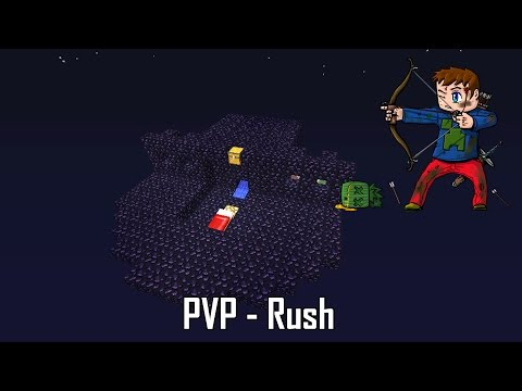 Карта: Minecraft Lucky Block PvP v2 minecraft