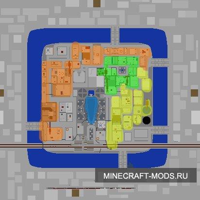 Карта: Mirror's Edge для minecraft minecraft