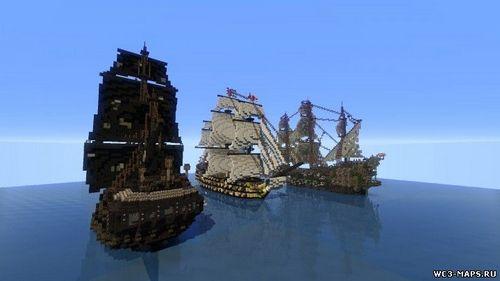 Карта «Пираты» Для Minecraft minecraft