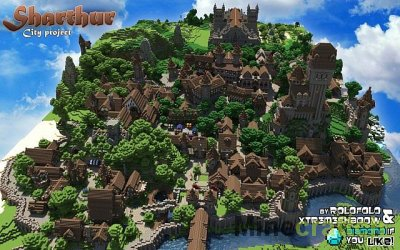 Высшая школа - Карта для Майнкрафт 1.5.2 minecraft