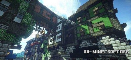 Карта Rise of Kings Fantasy для Minecraft minecraft