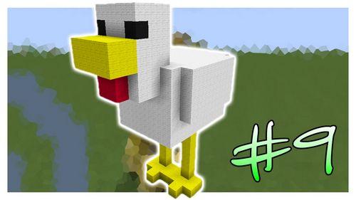 Курица minecraft