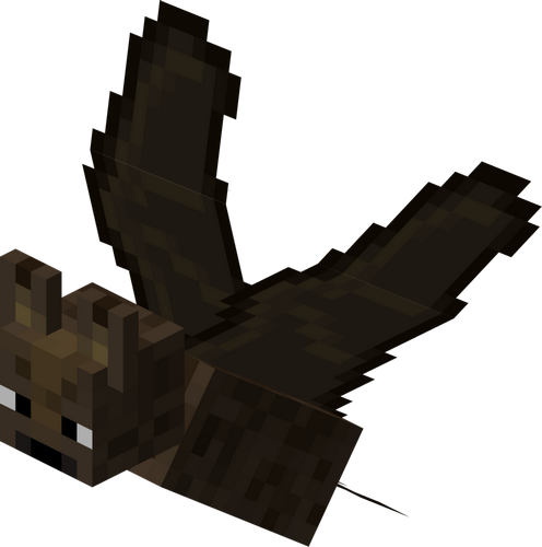 Летучая мышь minecraft