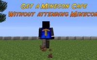Плащ Minecon Attendee Cape