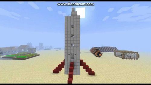 Ракета minecraft