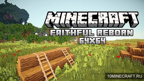 Ресурспак Faithful Reborn Animated Space [64x] для minecraft 1.8 minecraft