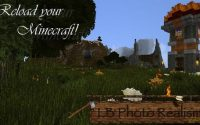 Ресурспак Фото реализм - BackyardCraft Photo Realism [256x256] для minecraft 1.8.1