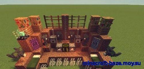 Ресурспак Retrovive [16x] для minecraft 1.8.4/1.8/1.7.10 майнкрафт
