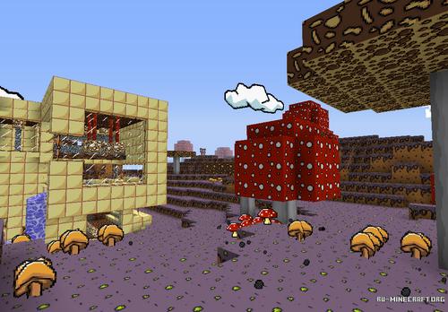 Ресурспак The Scribblenauts [32x] для minecraft 1.8.7 minecraft