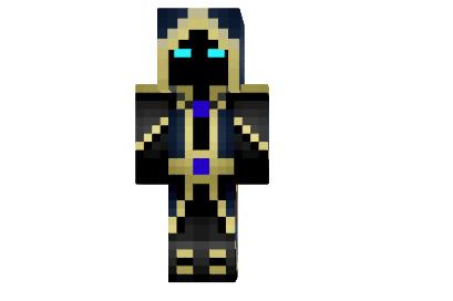 Скин Мага /  Mage для minecraft minecraft