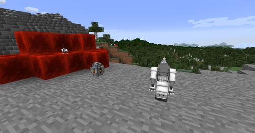 Скин неонового робота крипера для майнкрафта minecraft