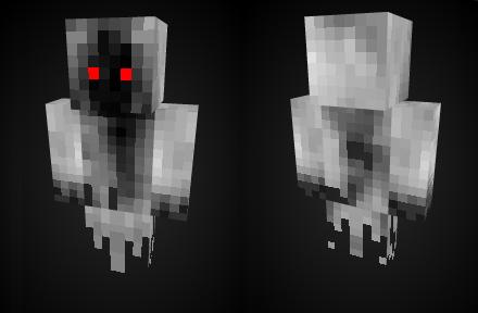 Скин Призрак для minecraft minecraft