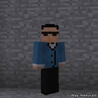 Скин Psy minecraft
