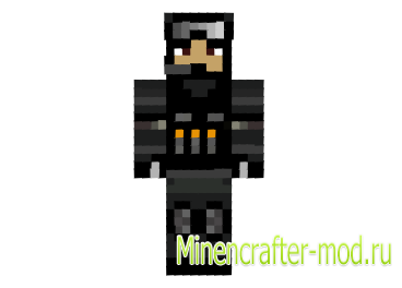Скин спецназовца для minecraft minecraft