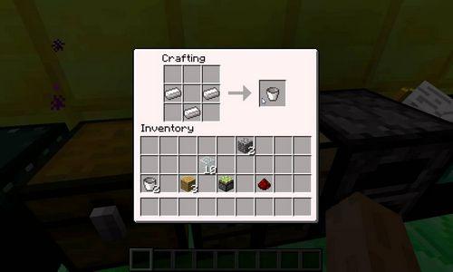 Ведро minecraft