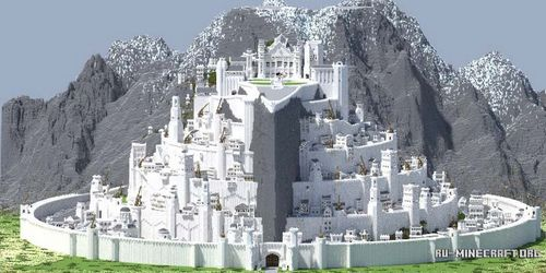 Властелин колец - Minas Tirith – Lord of the Rings 1.8 minecraft