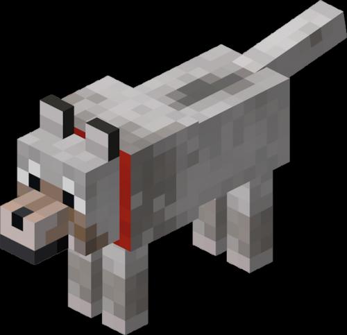 Волк minecraft