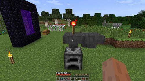 Загрузочная воронка minecraft