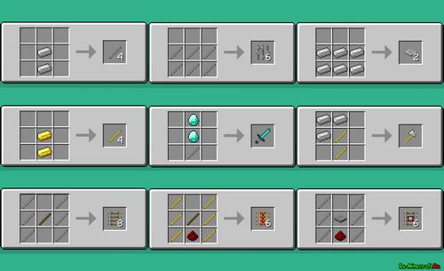 Железный люк minecraft