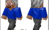 Бородатый старик - Скин для minecraft