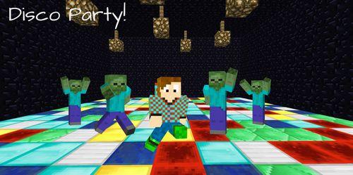 Disco Party minecraft