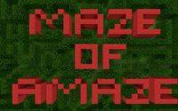 Генаратор Лабиринтов Карта для Minecraft