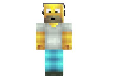 Homero HD Skin minecraft