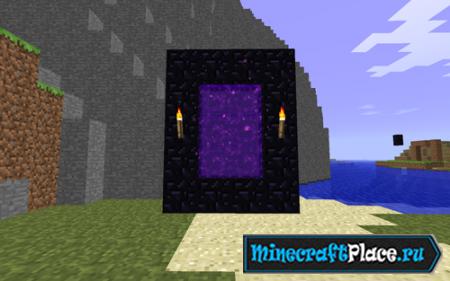 Как сделать портал в ад в игре Майнкрафт / Minecraft minecraft