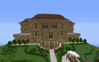 Карта Большой особняк для minecraft