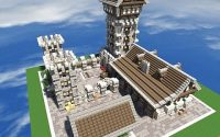 Карта Эйфелева башня для Майнкрафт 1.5.2