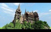 Карта Красивый замок для minecraft