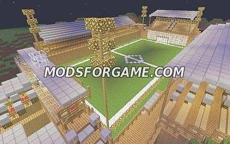 Карта Олимпийский стадион для minecraft minecraft