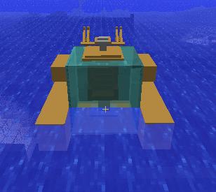Карта Подводная лодка для minecraft 1.5.2 minecraft