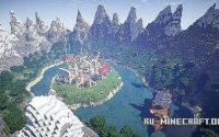Карта Professional Hub Spawn Lobby для minecraft