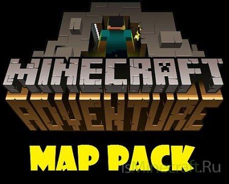 Карта: Время приключений для minecraft minecraft