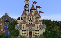 Карта Замок у моря для minecraft