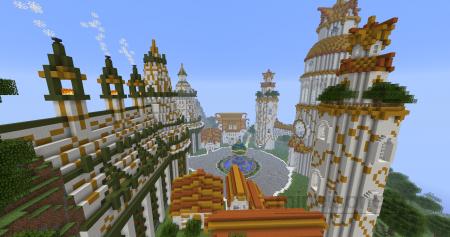 Карту Seeree Zem для Minecraft 1.6.2 майнкрафт