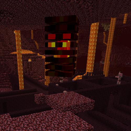 Лавовый куб minecraft